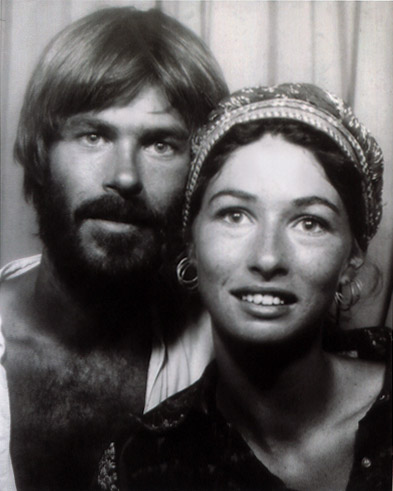 Frank and Gayle in pay photobox in Djbouti